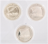 CONSTITUTION COMMEMORATIVE SILVER DOLLARS - LOT OF 3