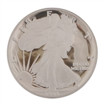1990 PROOF AMERICAN SILVER EAGLE 1 OZ COIN