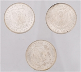 NEW ORLEANS SILVER MORGAN DOLLAR COLLECTION 1883-1885