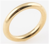 18K YELLOW GOLD CHOPARD ROUNDED WEDDING BAND