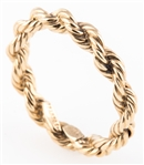 14K YELLOW GOLD TIFFANY & CO. SUCCO TWIST RING