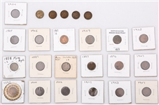 UNITED STATES INDIAN HEAD CENTS - 153.7 GRAMS