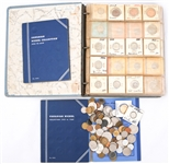 WORLD CLAD COINAGE COLLECTION - 3 BOOKS