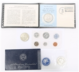 UNITED STATES SILVER MIXED COINAGE - PROOF & UNC.