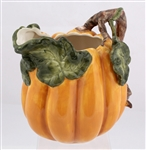 KALDUN & BOGLE PORCELAIN PUMPKIN PITCHER