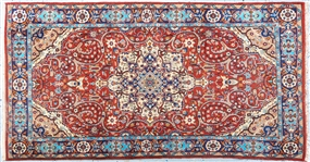 PERSIAN RUG WITH FLORAL DESIGN