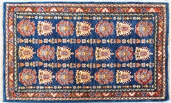 PERSIAN RUG WITH FRINGE
