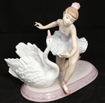 LLADRO PORCELAIN GRACEFUL DANCE FIGURINE 6205