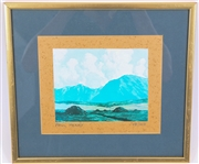 PAUL HENRY FRAMED LIMITED EDITION PRINT