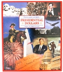 PRESIDENTIAL DOLLAR COINS - BOOK OF 45