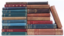 20 DECORATIVE HARDBACK FICTION BOOKS | Printed Dates: 20s to 40s