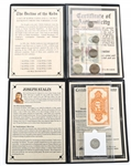 COMMEMORATIVE SOVIET COIN & CURRENCY SETS - LOT OF 2