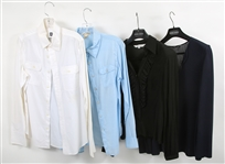 WOMENS LONG-SLEEVED BLOUSES - LOT OF 4