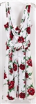 WOMENS TRELISE COOPER A-LINE POPPY-STYLE DRESS