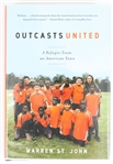 SIGNED FIRST EDITION: ST. JOHN, WARREN | Outcasts United. Spiegel & Grau, 2009