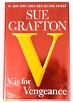 SIGNED FIRST EDITION: GRAFTON, SUE | V is Vengeance. G. Putnams Son, 2011