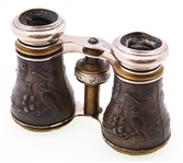 CHEVALIER EARLY 20TH C. REPOUSSE OPERA GLASSES