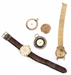 ESTATE WRISTWATCHES ELGIN POCKETWATCH - FOR PARTS