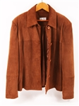 WOMENS JEAN GUISE COGNAC LEATHER JACKET