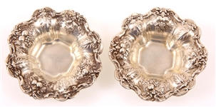 REED & BARTON STERLING SILVER FRANCIS I NUT BOWLS