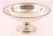 LUNT STERLING SILVER COMPOTE HOLLOWARE