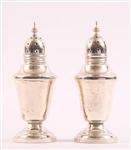 AMSTON STERLING SILVER SALT AND PEPPER SHAKERS