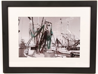 "GERALD BROWN ""NETS AT REST"" PHOTOGRAPH PRINT"