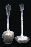 STERLING SILVER FRANK WHITING DAMASCUS PATTERN SPOONS