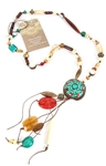 HANDMADE BEADED TRIBAL NECKLACE BY POWELL KREIS