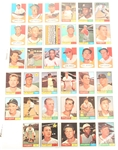 TOPPS 1961 BASEBALL CARDS - COLLECTORS LOT OF 35