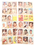 TOPPS 1962 BASEBALL CARDS - COLLECTORS LOT OF 36