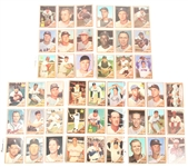 TOPPS 1962 BASEBALL CARDS - COLLECTORS LOT OF 45