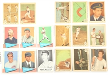 FLEER 1959 & 1961 EARLY BASEBALL CARDS - LOT OF 17