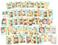 1960 TOPPS BASEBALL CARDS - LOT OF 50