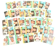 1960 TOPPS BASEBALL CARDS - LOT OF 41 VARIED