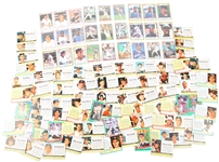 1961 - 1991 POST CEREAL BASEBALL CARDS - LOT OF 90