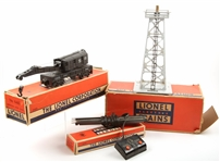 LIONEL TOY TRAIN PARTS - ROTATING BEACON RC SET CRANE