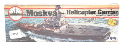 MOSKVA HELICOPTER CARRIER 1/600 SCALE MODEL KIT