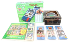 LATE 1980S EARLY 1990S BASEBALL CARD AND TOY LOT OF 6