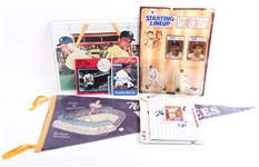 NEW YORK YANKEES BASEBALL COLLECTIBLES LOT OF 5