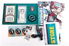 MIGHTY DUCKS INAUGURAL SEASON COLLECTIBLE LOT OF 4