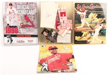 ST LOUIS CARDINALS 1998-1999 SEASON MEMORABILIA LOT