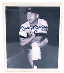 MICKEY MANTLE AUTOGRAPHED PHOTOGRAPH PRINT