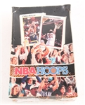 1991-92 NBA HOOPS NEW OLD STOCK BOX OF NBA CARD PACKS