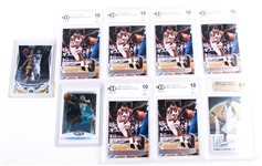 CARMELO ANTHONY BASKETBALL CARD LOT OF 9