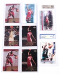 LEBRON JAMES NBA CARD LOT OF 8
