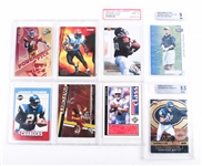 1990S & 2000S NFL TRADING CARD LOT OF 8